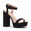 ZUDA HEELS IN BLACK