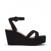 WHO WEDGES IN BLACK