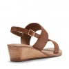 WHIP WEDGES IN TAN