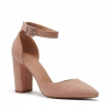 IRIDESCENT PUMPS IN NUDE