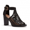 FARAH PEEP TOE IN BLACK