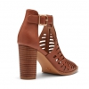 FARAH PEEP TOE IN TAN