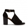 FAVELA PEEP TOE IN BLACK