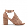 FAVELA PEEP TOE IN NUDE