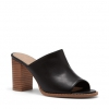 FANCIE PEEP TOE IN BLACK