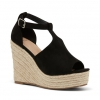 WELINDA WEDGES IN BLACK