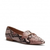 CAUTION FLATS IN BLUSH SNAKE
