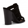 FEEFEE PEEP TOE IN BLACK