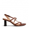 ZAKARY HEELS IN TAN CROC