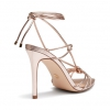 ZAINAB HEELS IN GOLD