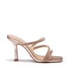 ZIGZAG HEELS IN ROSE GOLD