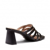 ZAADA MULES IN BLACK