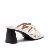ZAADA MULES IN WHITE