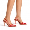 ILLUSIVE PUMPS IN RED PATENT