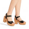 MELBA HEELS IN BLACK
