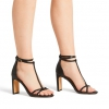 MIREYA HEELS IN BLACK