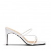 ZANITH HEELS IN WHITE