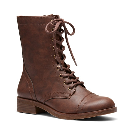KENZAS BOOTS IN CHOCOLATE