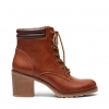 KLAUDIA BOOTS IN TAN