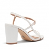 EOLIE HEELS IN WHITE