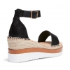 BECKEY WEDGES IN BLACK