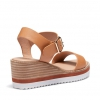 BRIZA WEDGES IN TAN