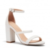 MONTAGUE HEELS IN WHITE