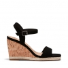 BESTY WEDGES IN BLACK