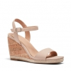 BESTY WEDGES IN NUDE