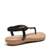 STRONG SANDALS IN BLACK