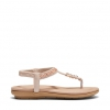 STRONG SANDALS IN ROSE GOLD