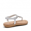 STRONG SANDALS IN SILVER
