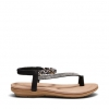 ELCAMINO SANDALS IN BLACK