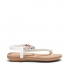 ELCAMINO SANDALS IN WHITE