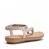 ELCAMINO SANDALS IN NUDE