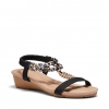 ELPATIO SANDALS IN BLACK