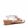 ELPATIO SANDALS IN WHITE