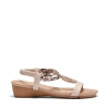ELPATIO SANDALS IN NUDE