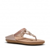 SNEAKEY SANDALS IN ROSE GOLD