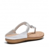SNEAKEY SANDALS IN SILVER