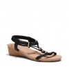 WAYNEE SANDALS IN BLACK