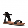 RIVERS SANDALS IN BLACK
