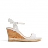 BALIA WEDGE IN WHITE