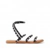 TITANIC SANDAL IN BLACK
