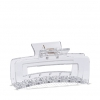 CLAW CLIP HOLLOW  JEWELLERY IN CLEAR