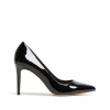 IMPOSSIBLE HEELS IN BLACK PATENT