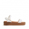 THIRSTY WEDGES IN WHITE