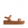 THIRSTY WEDGES IN TAN