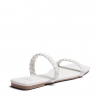 ZECCA SLIDES IN WHITE