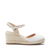 BRODIE WEDGES IN WHITE